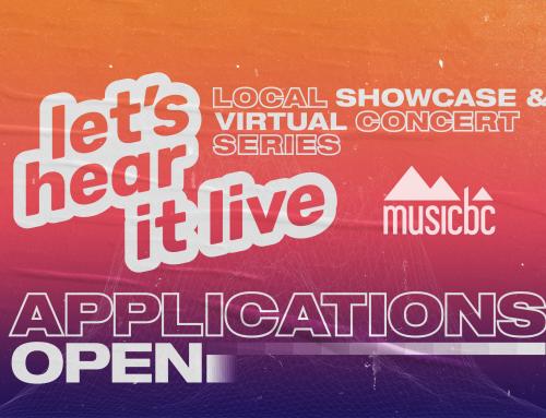Let's Hear It! Live 2020 Applications Open
